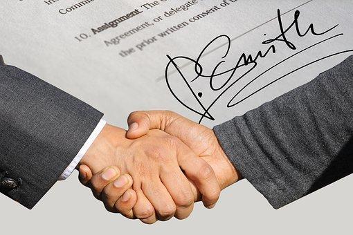 签名, 合同, 握手, 协议, 伙伴关系, 手, 男子, 合作, 背景, 人类